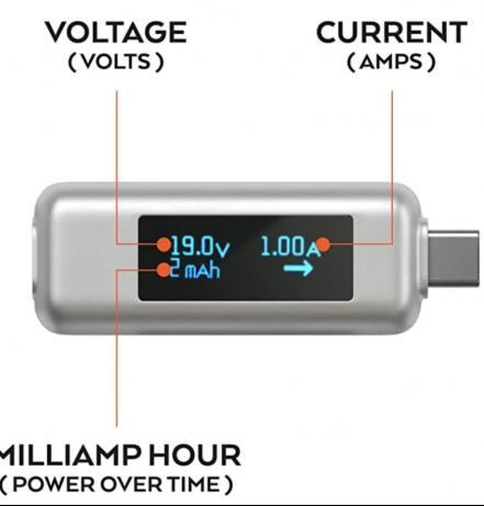 בדיקת אספקת חשמל למקבוק